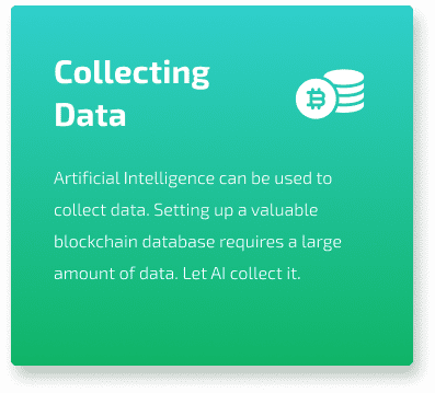 collecting data for blockchain databases