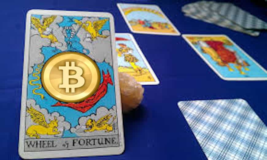 bitcoin on the wheel of fortune