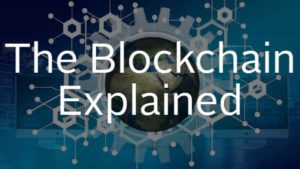 the blockchain explained