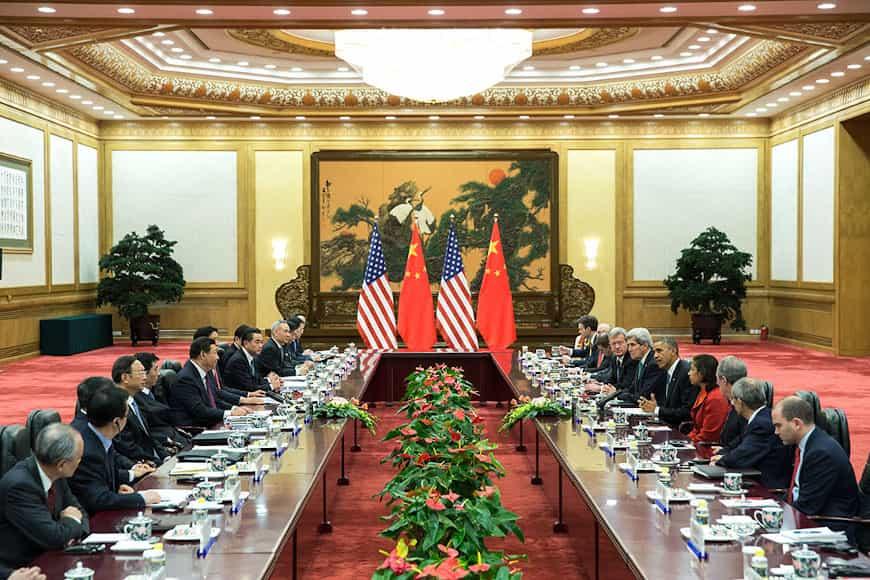 China gegen USA Finanzen