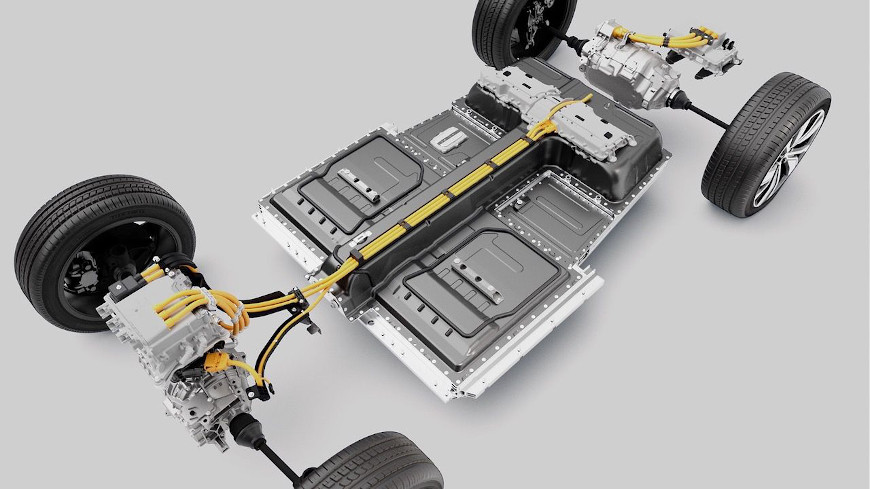 Volvo Recharge Battery Package