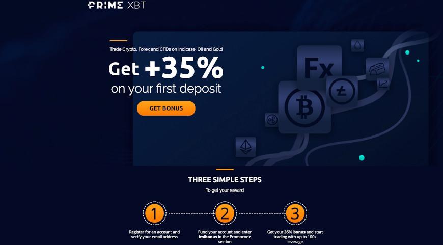 primexbt coupon deposit bonus
